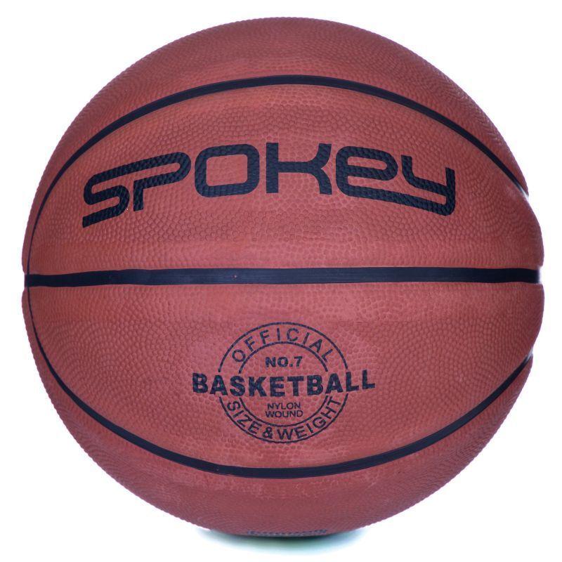 Basketbalový míč Spokey BRAZIRO II hnědý velikost 7