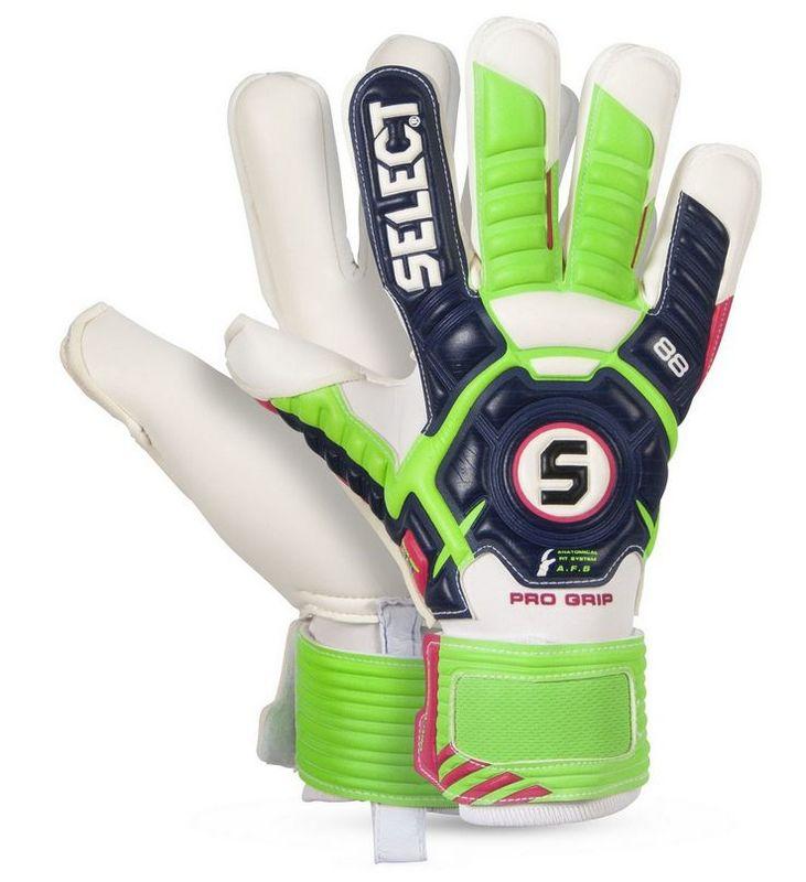 Brankářské rukavice Select Goalkeeper gloves 88 Pro Grip modro zelená ab1e676032