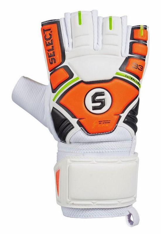 9744a6e98 Brankářské rukavice Select Goalkeeper gloves Futsal Liga 33 2014 oranžovo  zelená