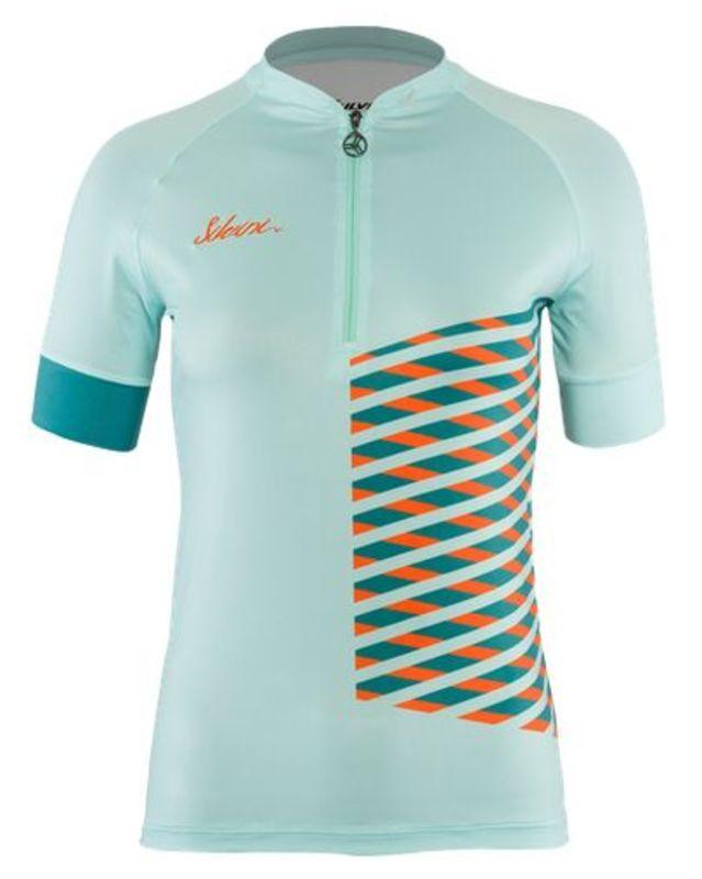 Dámský cyklistický dres Silvini MTB Sabatini WD1207 turquoise
