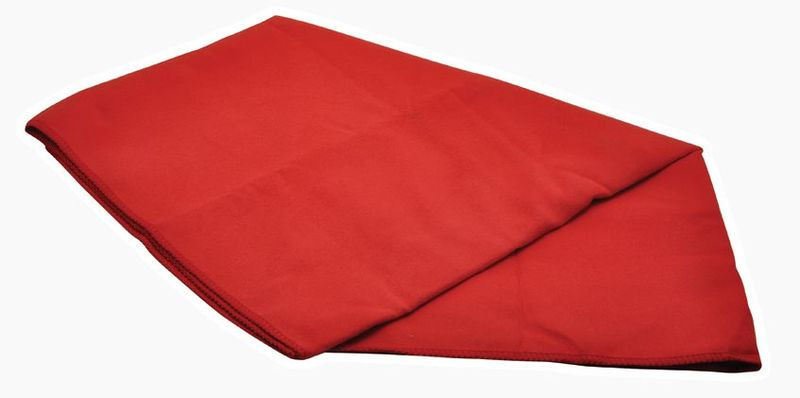 Rychleschnoucí ručník Baladéo PLR313 Cham vel.M, červený