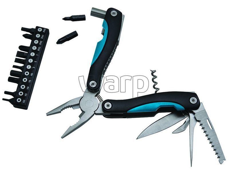 Multifunkční nůž Baladéo BLI060 Locker, modrá