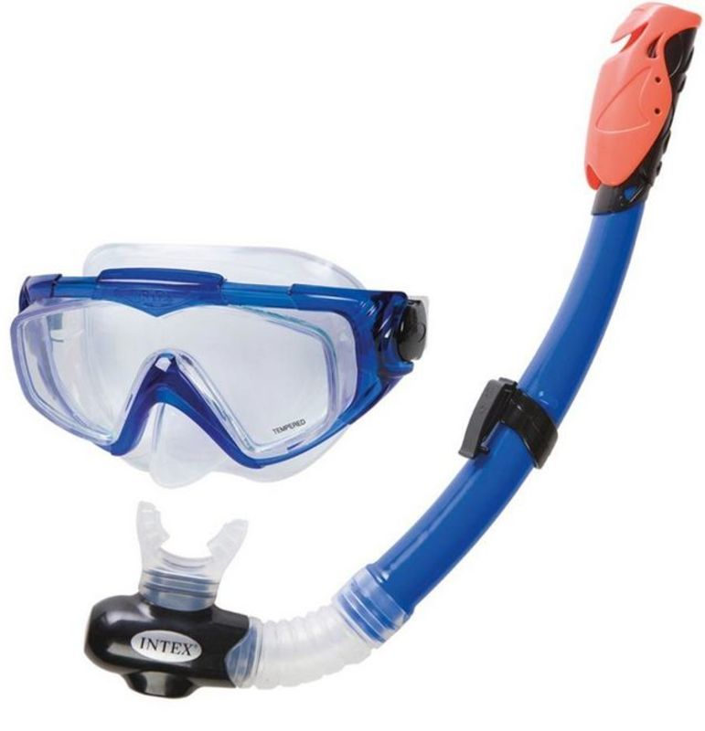 Potápěčská sada Intex Silicon AQUA PRO