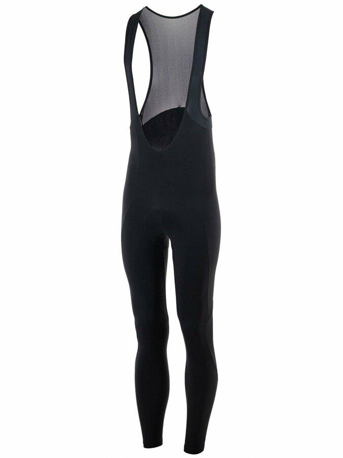 Silně hřejivé cyklistické kalhoty Rogelli NERO s gelovou výstelkou, černé 002.900