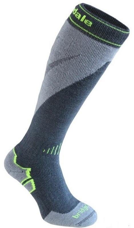 Ponožky Bridgedale Ski Midweight+ gunmetal/stone/038 L (9-11,5) UK