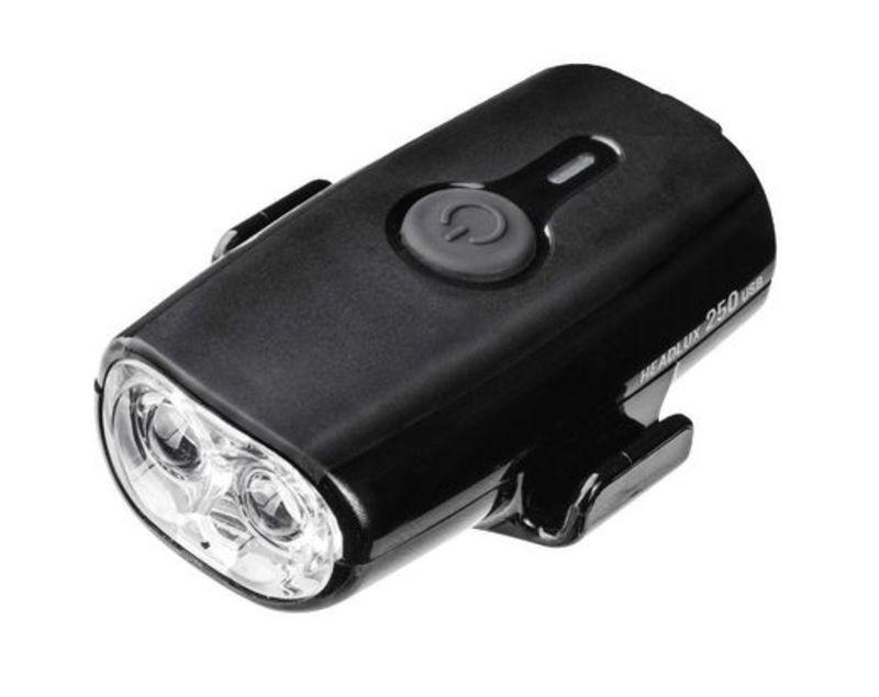 Světlo Topeak na přilbu HEADLUX USB 250