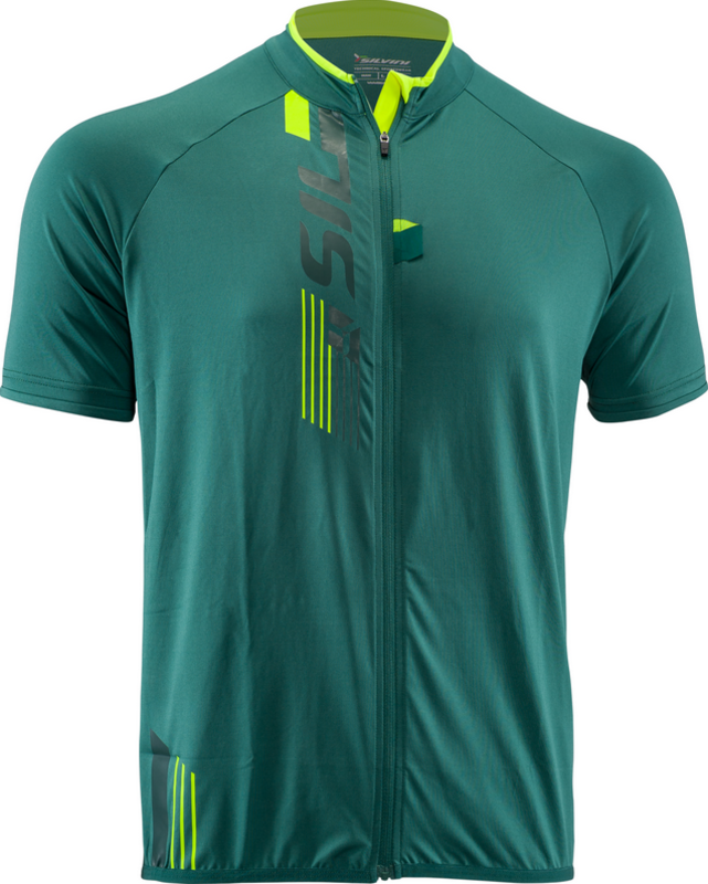 Pánské MTB triko Silvini Turano Pro MD1423 olive-neon