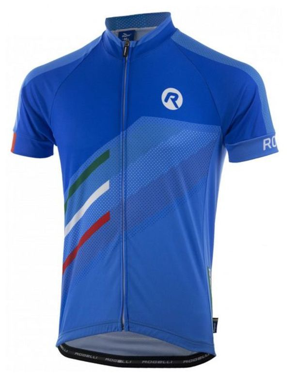 Pánský cyklodres Rogelli TEAM 2.0 modrý 001.970.