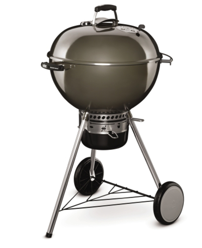 Kotlový gril Weber Master-Touch GBS 57 cm smoke grey