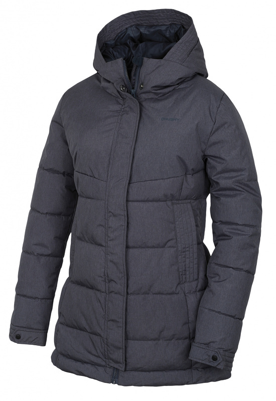 Dámský hardshell plněný kabátek Husky Nilit L antracit M