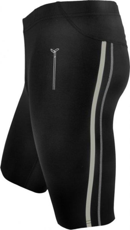 Pánské krátké běžecké kalhoty Silvini Lambro MP614 black