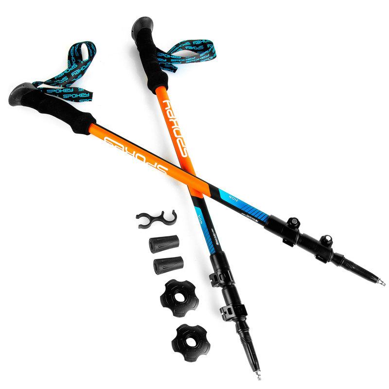 Trekingové hole Spokey ZION modro-oranžové