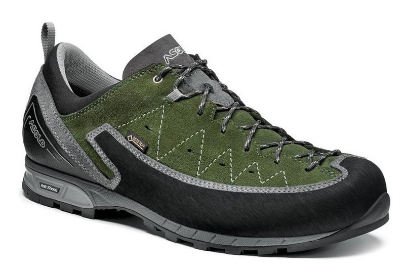 Boty ASOLO Apex GV MM grey/rifle green/A910