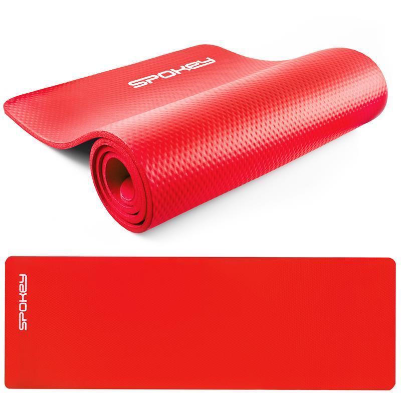 Podložka na cvičení Spokey SOFTMAT červená 1,5 cm