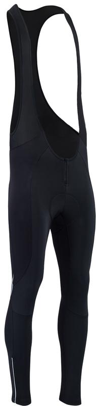 Pánské zimní cyklistické kalhoty Silvini Maletto Pad MP1734 black