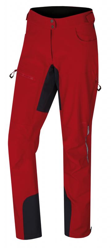 Dámské softshell kalhoty Husky Keson L červená M