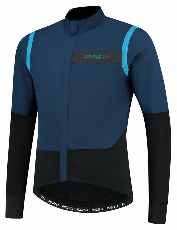 Pánská ultralehká cyklobunda Rogelli Infinite modro-černá ROG351049