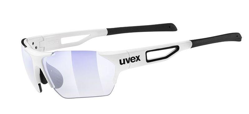 Sportovní brýle Uvex Sportstyle 202 Small Race Vario - white (8803)