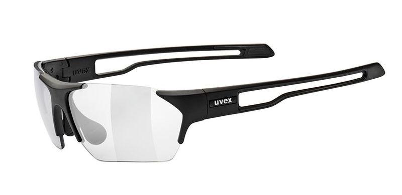 Sportovní brýle Uvex Sportstyle 202 Small Vario - black mat (2201)