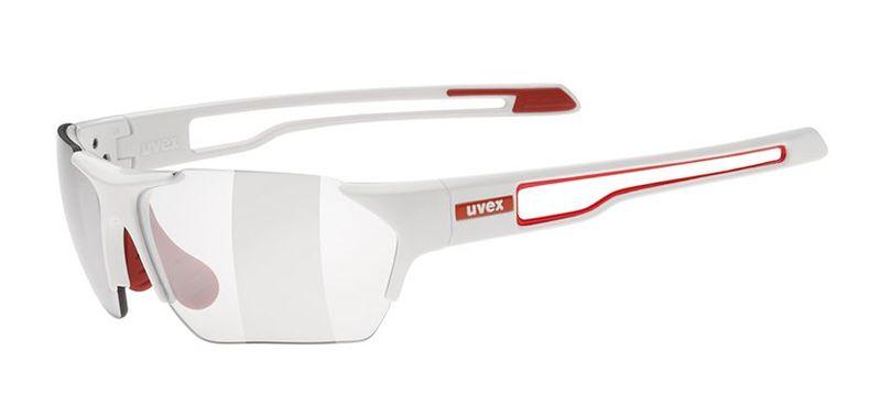 Sportovní brýle Uvex Sportstyle 202 Small Vario - white red (8301)