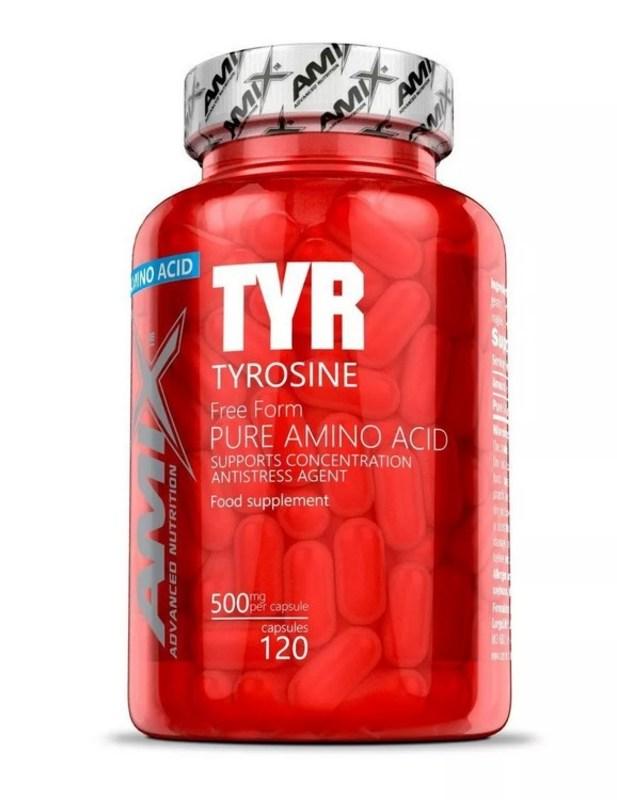 Amix Tyrosine 500MG 125 kapslí