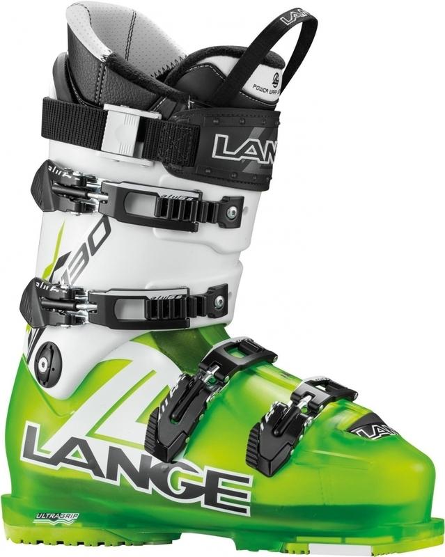 Lyžařské boty Lange RX 130 L.V. lime/white LBC2010