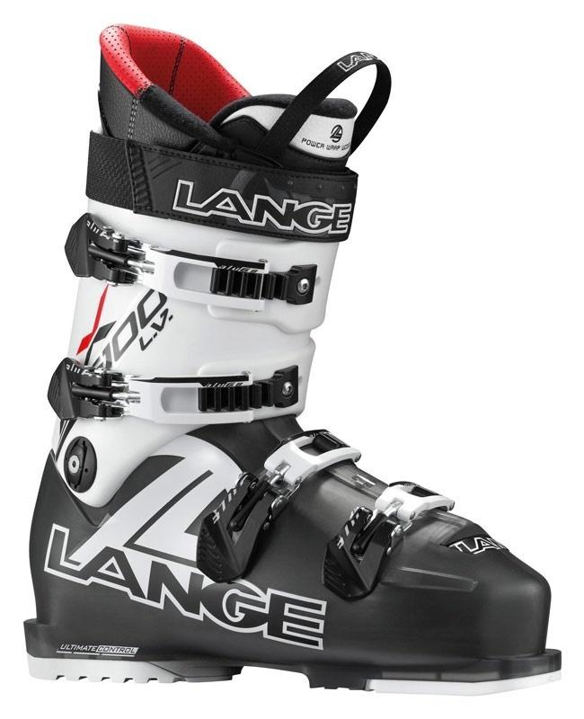Lyžařské boty Lange RX 100 Black/red LBC2100