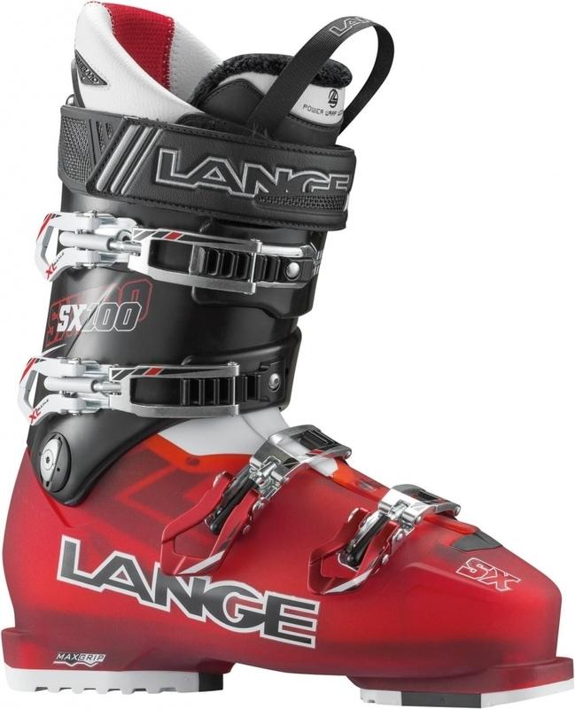 Lyžařské boty Lange SX 100 Red/Black LBC6020