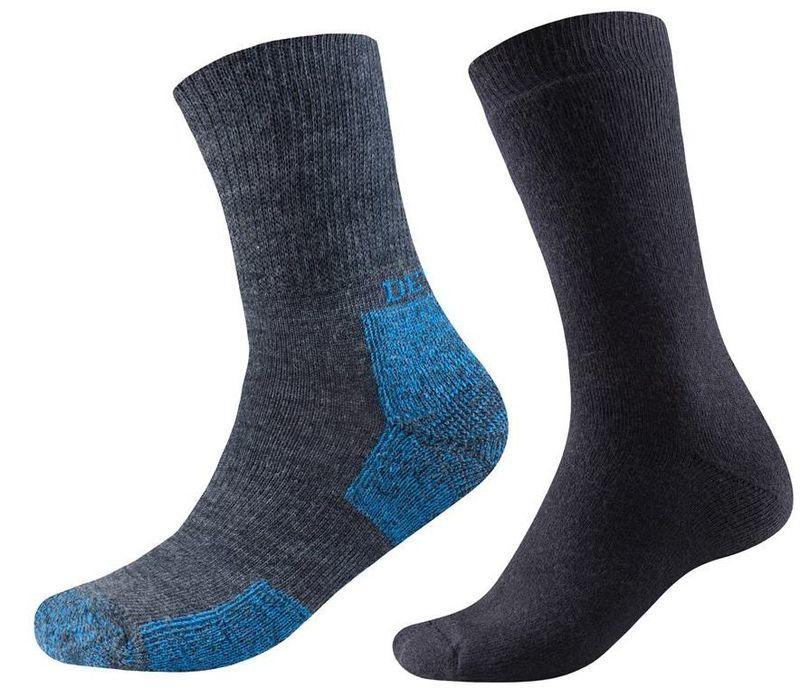 Ponožky Devold Walker+Daily 2PK 580-063 786