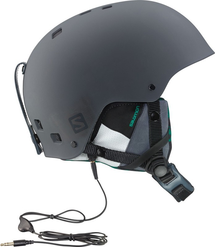 Lyžařská helma Salomon BRIGADE AUDIO 368433