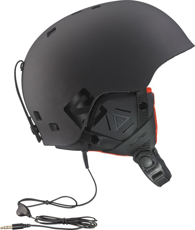 Lyžařská helma Salomon BRIGADE AUDIO 367069