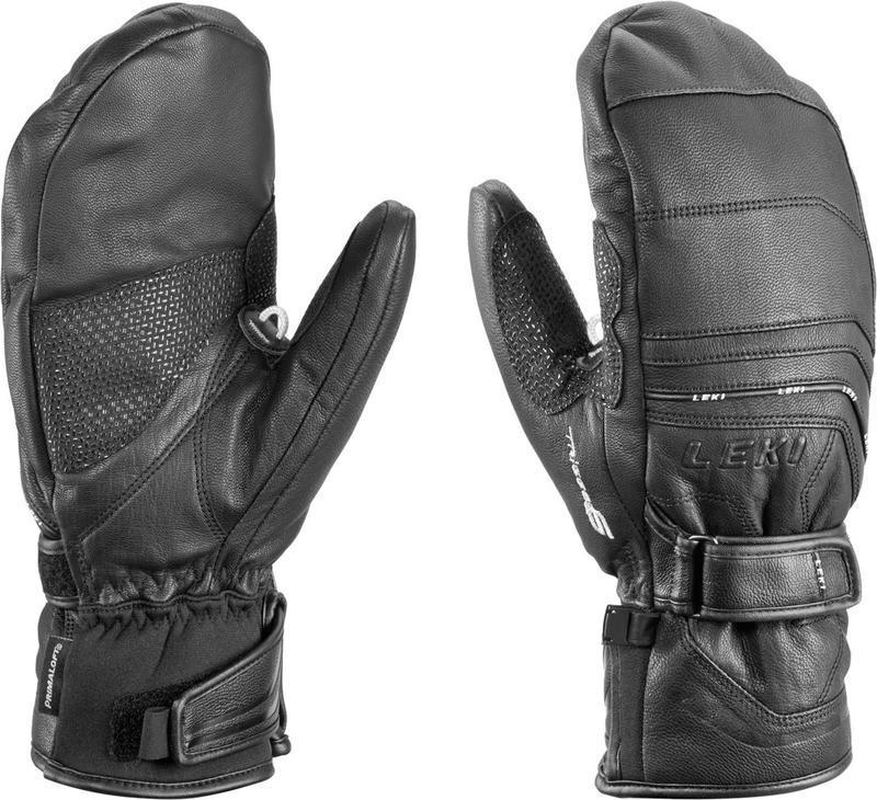 Rukavice LEKI Aspen S Mitten black 634-82153