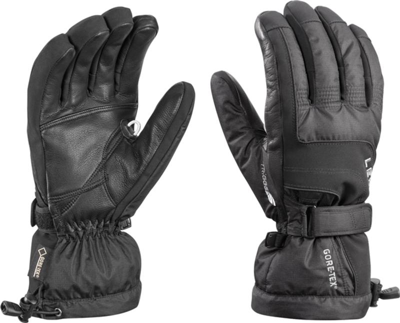 Rukavice LEKI Scuol S GTX black 634-83053