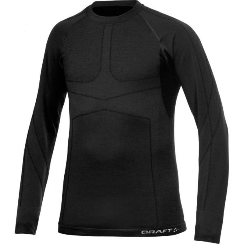 Triko CRAFT Warm CK Wool 1901648-9980 - černá