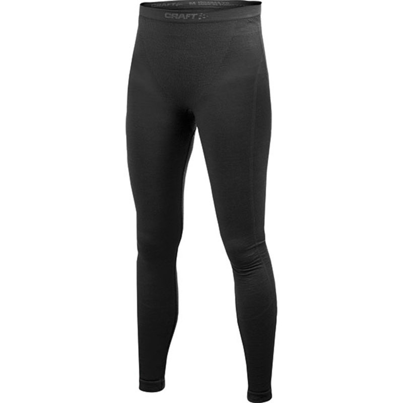 Spodky CRAFT Warm CK Wool 1902344-9999 - černá