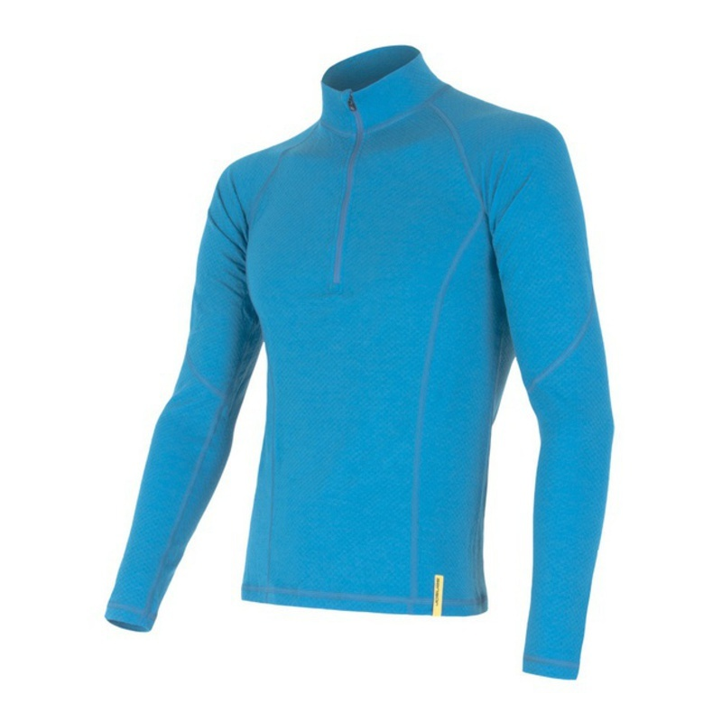 Pánské triko Sensor Double Face Merino Wool modré 15100024