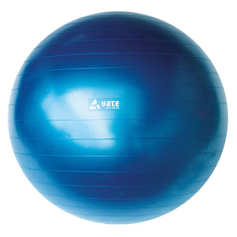Gymnastický míč Yate Gymball - 65 cm modrá