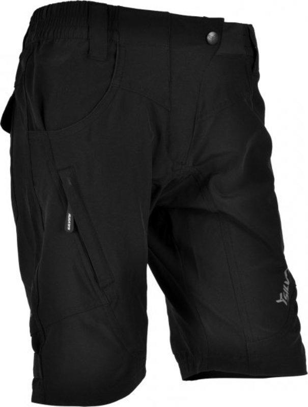 Dámské volné cyklistické kalhoty Silvini Fasca WP476 black