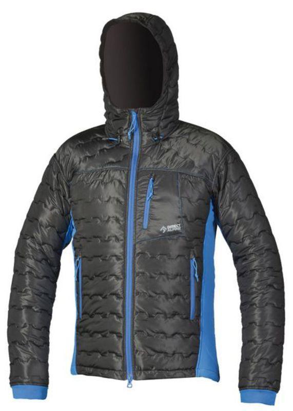 Bunda Direct Alpine Block black/blue