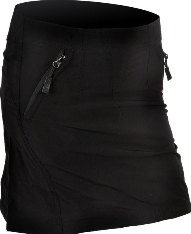 Dámská cyklistická sukně Silvini INVIO WS859 black