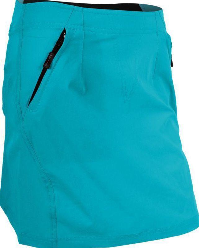 Dámská cyklistická sukně Silvini INVIO WS859 turquoise