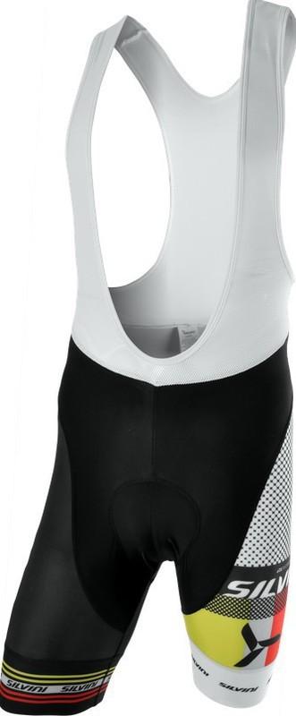 Pánské cyklistické kalhoty lacl Silvini TEAM MP839 black