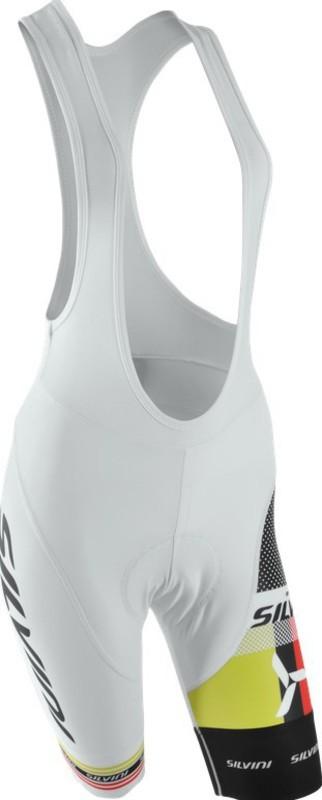 Dámské cyklistické kalhoty lacl Silvini TEAM WP841 white
