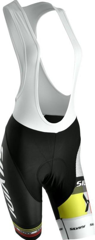 Dámské cyklistické kalhoty lacl Silvini TEAM WP841 black