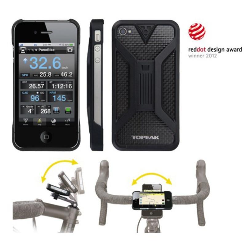 Obal Topeak RideCase pro iPhone 5 černý TT9833