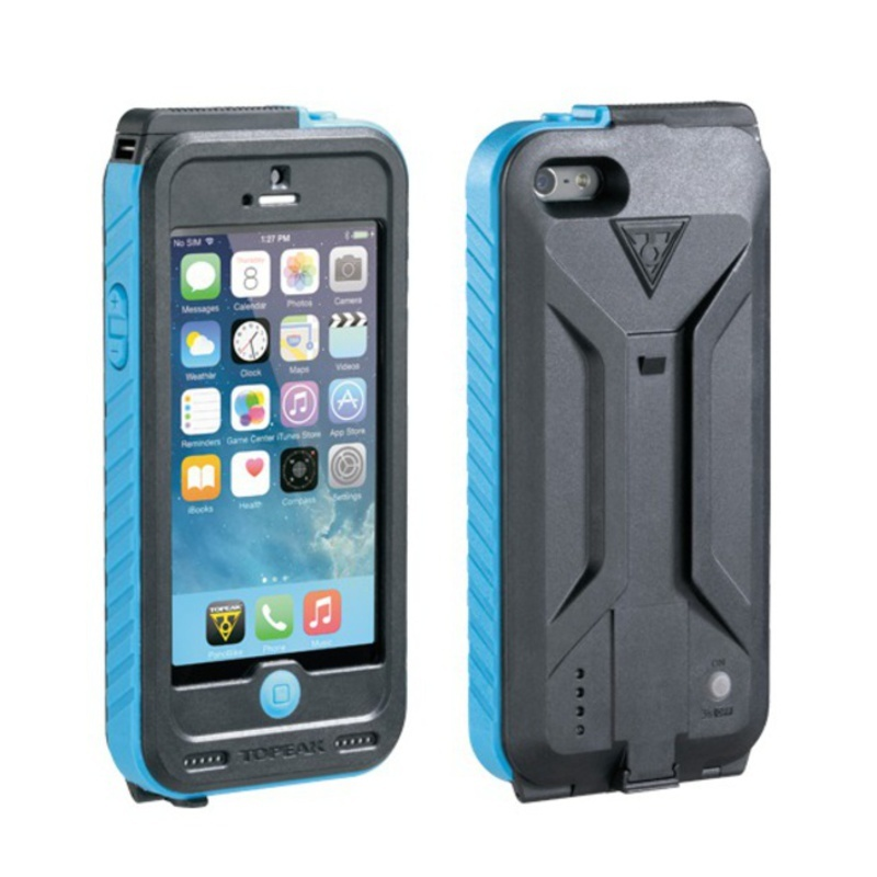 Obal Topeak Weatherproof RideCase s 3150 mAh baterií - iPhone 5, 5S, SE TT9839BU