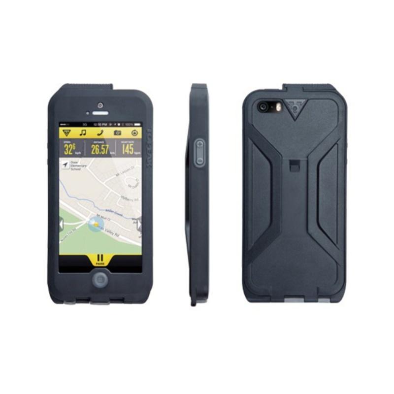 Obal Topeak Weatherproof RideCase pro iPhone 5 černá/šedá TT9838BG