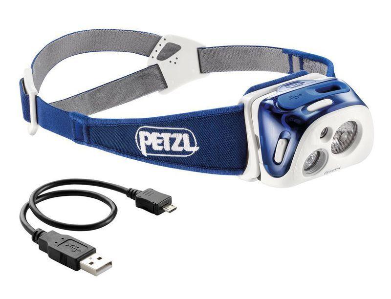 Čelovka Petzl Reactik Blue E92 HMI