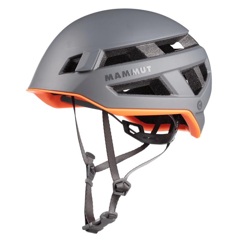 Horolezecká helma Mammut Crag Sender Helmet titanium