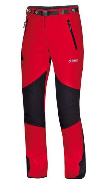 Kalhoty Direct Alpine Badile Lady 4.0 red/black